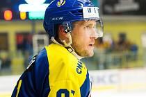 Hokejista HC Zubr Přerov Roman Pšurný.