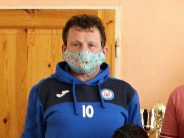 Předseda klubu 1.FC Viktorie Přerov Břetislav Holouš