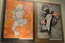 Vernisáž otevřela poutavou výstavu mladých umělců