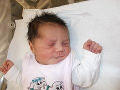 Natálie Ferencová, Bělotín, narozena dne 29. listopadu 2015 v Přerově, míra: 49 cm, váha: 3190 g