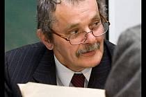 Milan Chumchal na muzejním retrovečeru v roce 2009