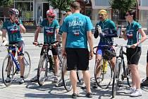 Přerov se stal jednou ze zastávek celorepublikové akce cyklo-běh proti drogám