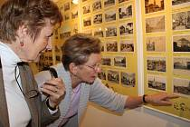 Výstava pohlednic starého Přerova v prostorách Muzea Komenského