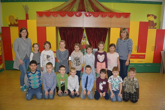 Žáci 1.B ze ZŠ vBělotíně