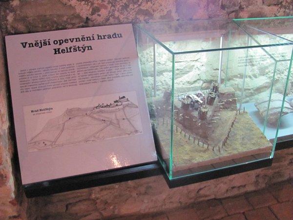 Expozici Archeologie na hradě Helfštýně