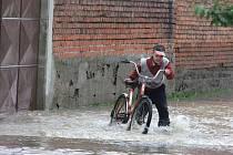 Zaplavené Troubky den poté, středa 19. května 2010