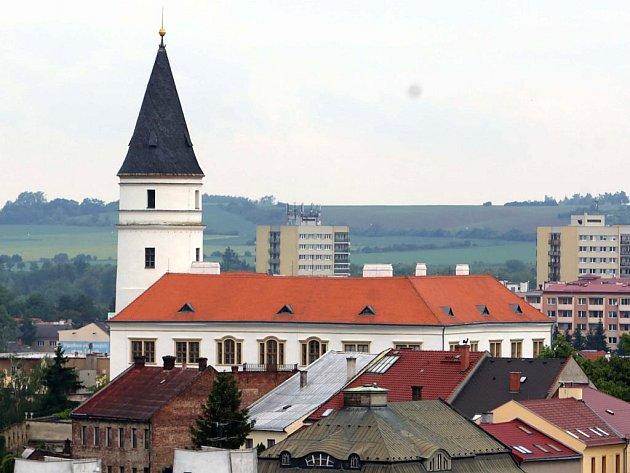 Věž přerovského zámku. Ilustrační foto