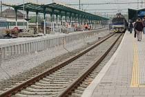 Rekonstrukce třetího nástupiště na nádraží v Přerově