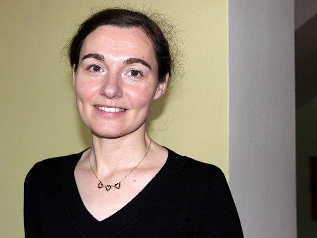 Martina Krejčířová z přerovské charity