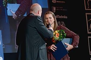 Vyhlášení Sportovce Olomouckého kraje za rok 2019 v Městském domě v Přerově.  Karolína Muchová