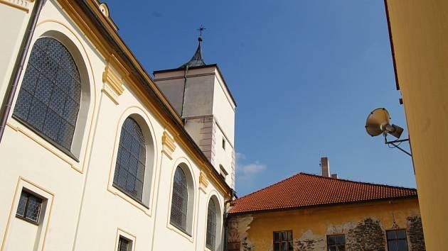Areál piaristického kláštera v Lipníku nad Bečvou
