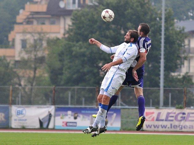 1. FCV Přerov (v bílém) vs. FK Mohelnice