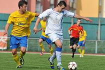 1.FC Viktorie Přerov (v bílém) vs. FK SAN-JV Šumperk