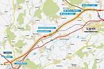 Nový úsek dálnice D1 mezi Lipníkem a Přerovem