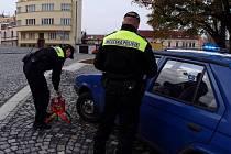 Přerovští městští strážníci se denně setkávají s řidiči, kteří parkují svá auta na zrušeném parkovišti v ulici Na Marku