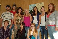 Studenti GJŠ v Přerově - tvůrci projektu Cyklocity