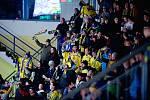 Fanoušci Přerova na derby s Prostějovem