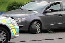Nehoda v Želatovské ulici v Přerově