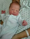 Tadeáš Berežný, Bochoř, narozen dne 12. července vPřerově, míra 48 cm, váha 2866 g