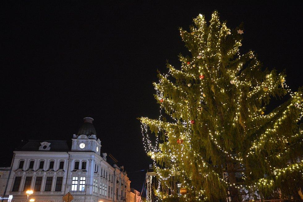 Rozsvícení vánočního stromu v Přerově 2019