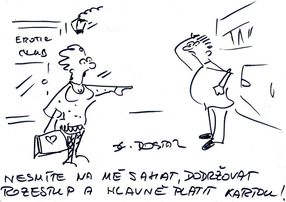 Smějeme se s Lubomírem Dostálem.