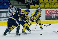 HC ZUBR Přerov – HC Slovan Ústí nad Labem 2:3 (0:2, 2:0, 0:1)