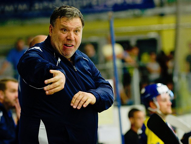 Trenér Zubrů Kamil Přecechtěl