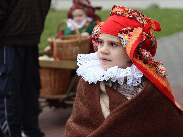 Řehtání vProsenicích - děti zHanáckého Prosénku