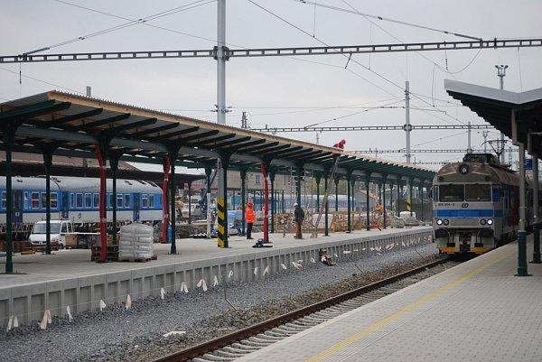 Rekonstrukce vlakového nádraží vPřerově