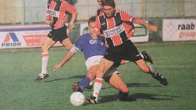 Přerov v letech 1996-99 bojoval ve druhé fotbalové lize