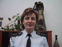 Krajská mluvčí hasičů Vladimíra Hacsiková