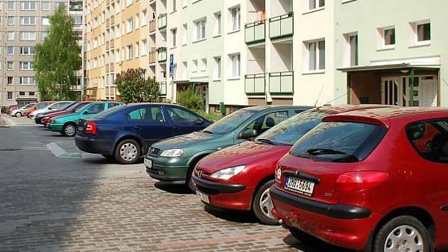 Parkování v Předmostí