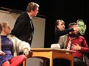 Čtyři vraždy stačí...přerovského divadla Dostavník