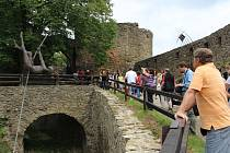 Hefaiston - celosvětové setkání uměleckých kovářů na hradě Helfštýn
