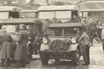 Německé vojsko 15. března 1939 v Přerově.
