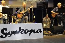 Legendární přerovská kapela Synkopa oslavila pětapadesát let své existence v Městském domě.