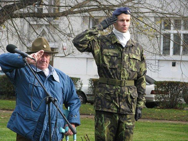 Den vojenských veteránů v Přerově