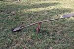 Zastaralá houpačka v Jižní čtvrti v Přerově.