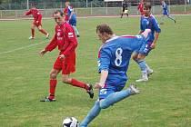 Přerovští fotbalisté u míče