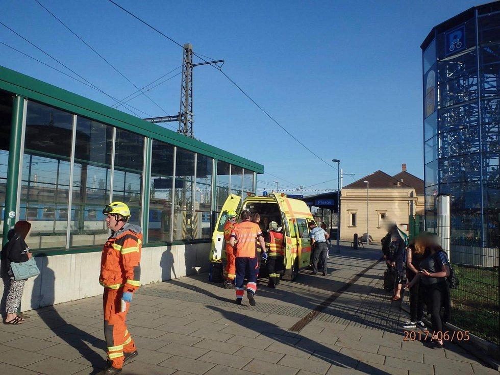 Nehoda Leo Expressu v Přerově