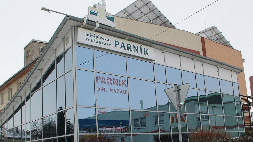 Restaurace Minipivovar Parník v Přerově