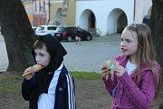 Strašidlácký večer na Horním náměstí v Přerově