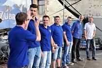 Na Zubrfestu se představily i nové posily hokejového týmu.