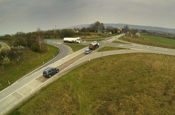 Riziková křižovatka Na Horecku uLipníka nad Bečvou