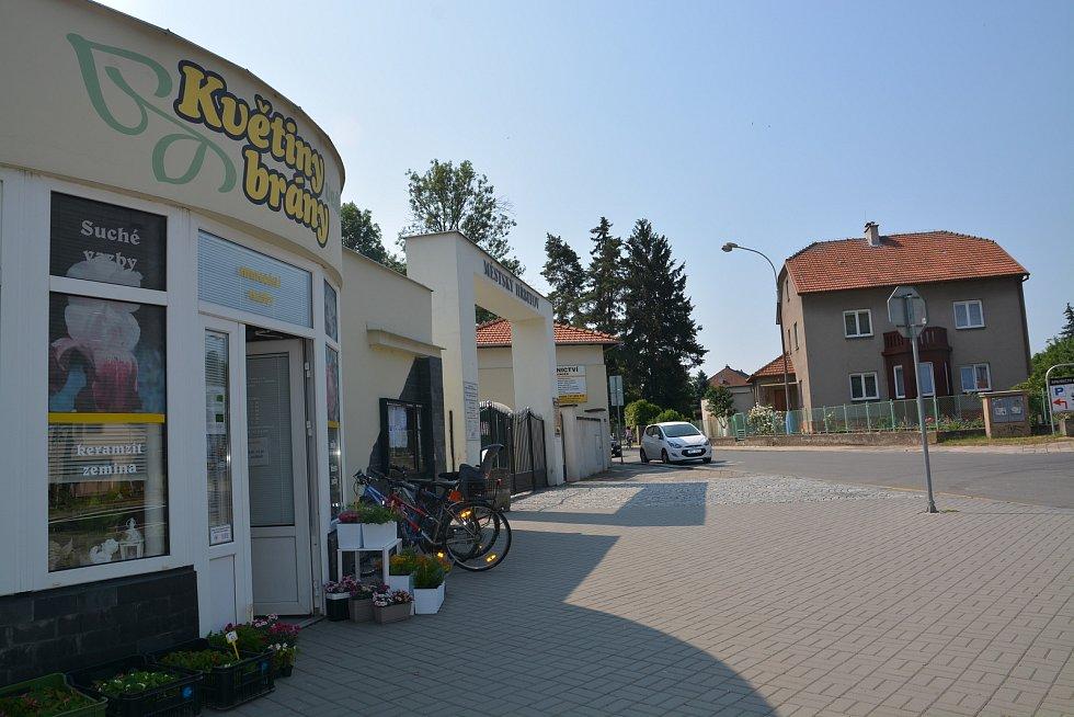 Nové toalety na Městském hřbitově v Přerově