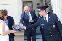 Otevření nově zrekonstruované služebny policie v Přerově u nádraží