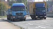 Provoz na ulici Velké Novosady