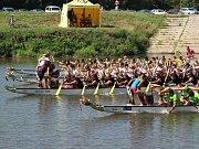 Festival dračích lodí v Kojetíně