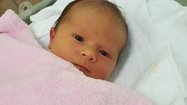 Ema Vybíralová, Troubky, narozena 19. června 2019 v Přerově, míra 49 cm, váha 3130 g
