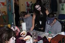 Halloweenskou zábavu si užívali v aktivačním centru Jsme tady.
